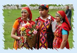 People of Shimla India